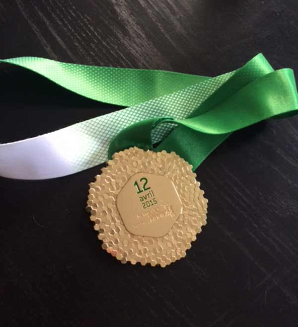 Beyond_Defeat_Paris_Marathon_medal